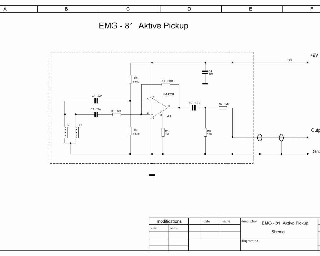 Emg Wiring Diagram Unique Active Pickups How Do Emg Do It