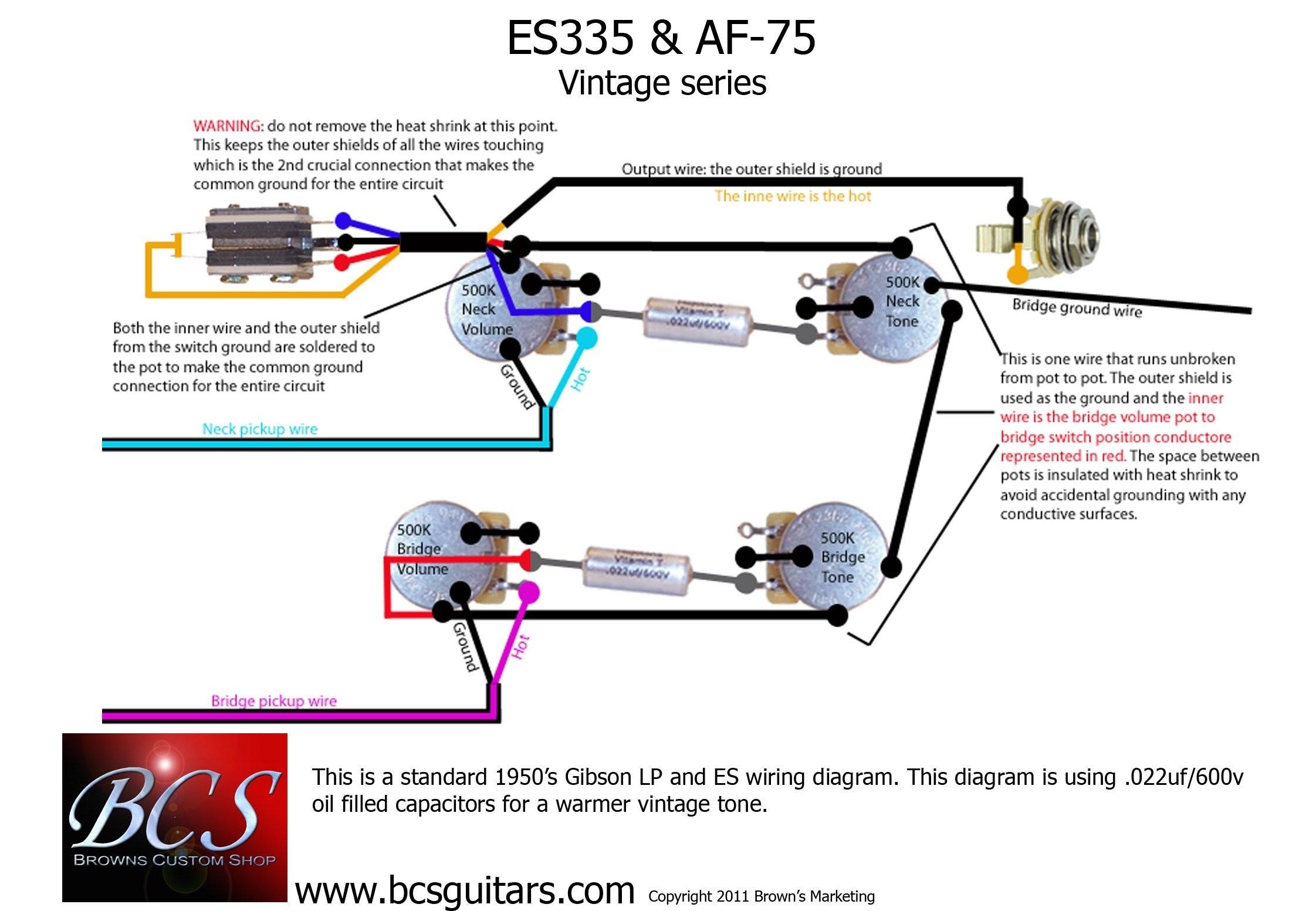 Emg Hz Wiring Diagram Unique Humbucker Wiring Diagram 335 Wiring Diagrams Schematics Emg Hz Wiring