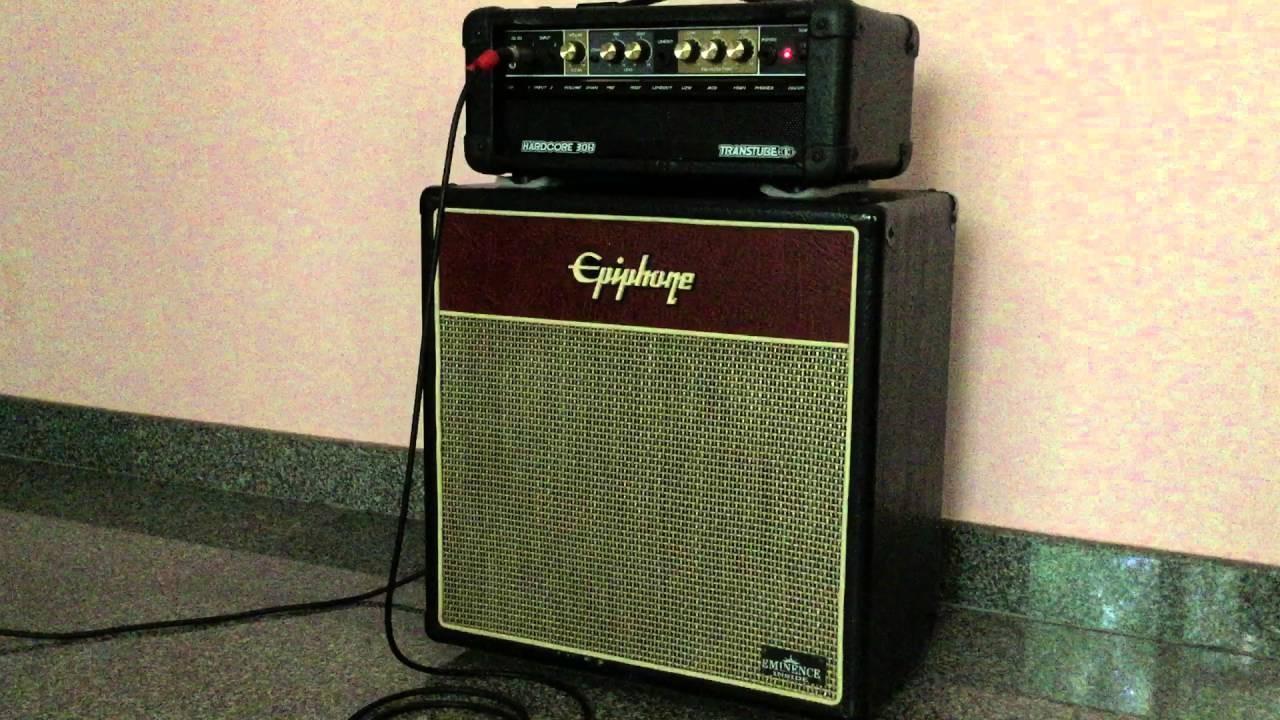 แอมป์ร็อค With Epiphone Cabinet