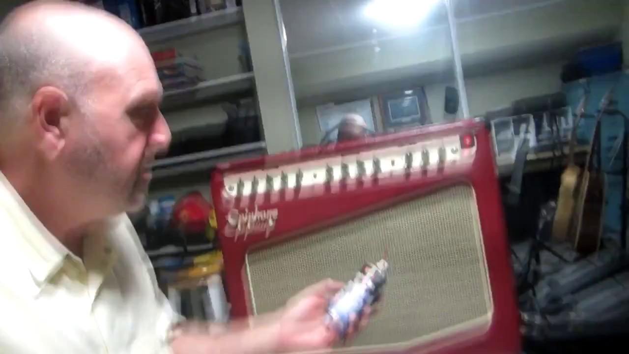 Clean Epiphone Triggerman Scratchy Master Volume Pot