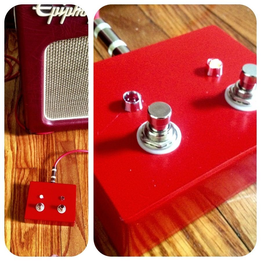 DIY guitar and footswitch for Epiphone Triggerman 60 2 button