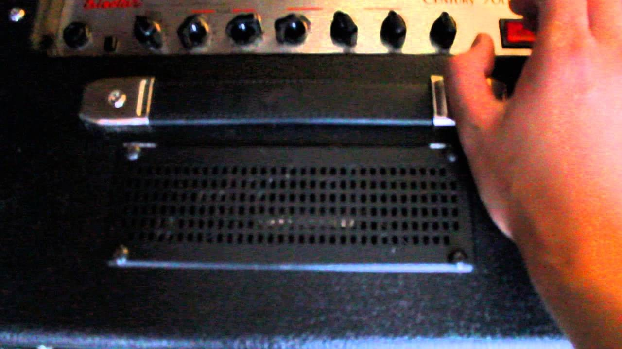 Epiphone Electar Century 30DR reverb issue on powering up