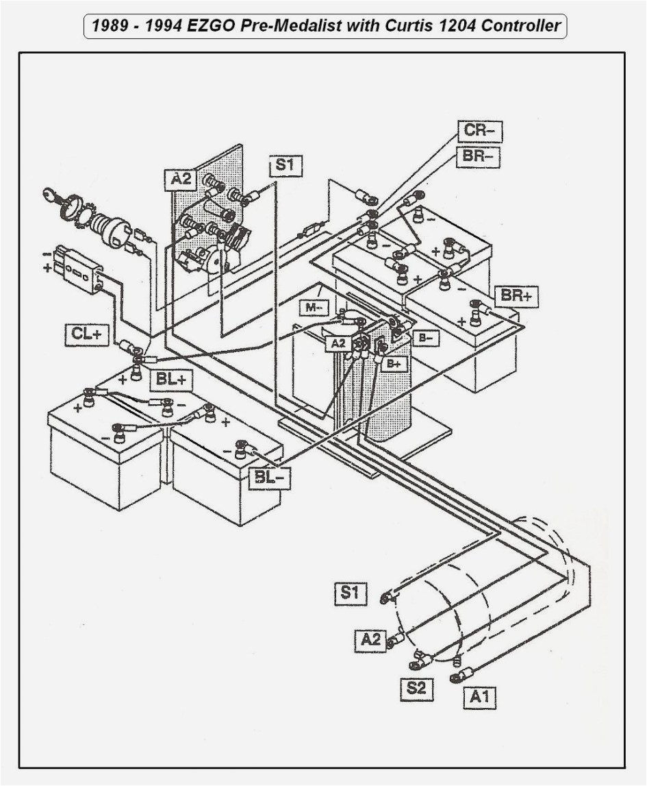Ez Go Golf Cart Battery Wiring Diagram New
