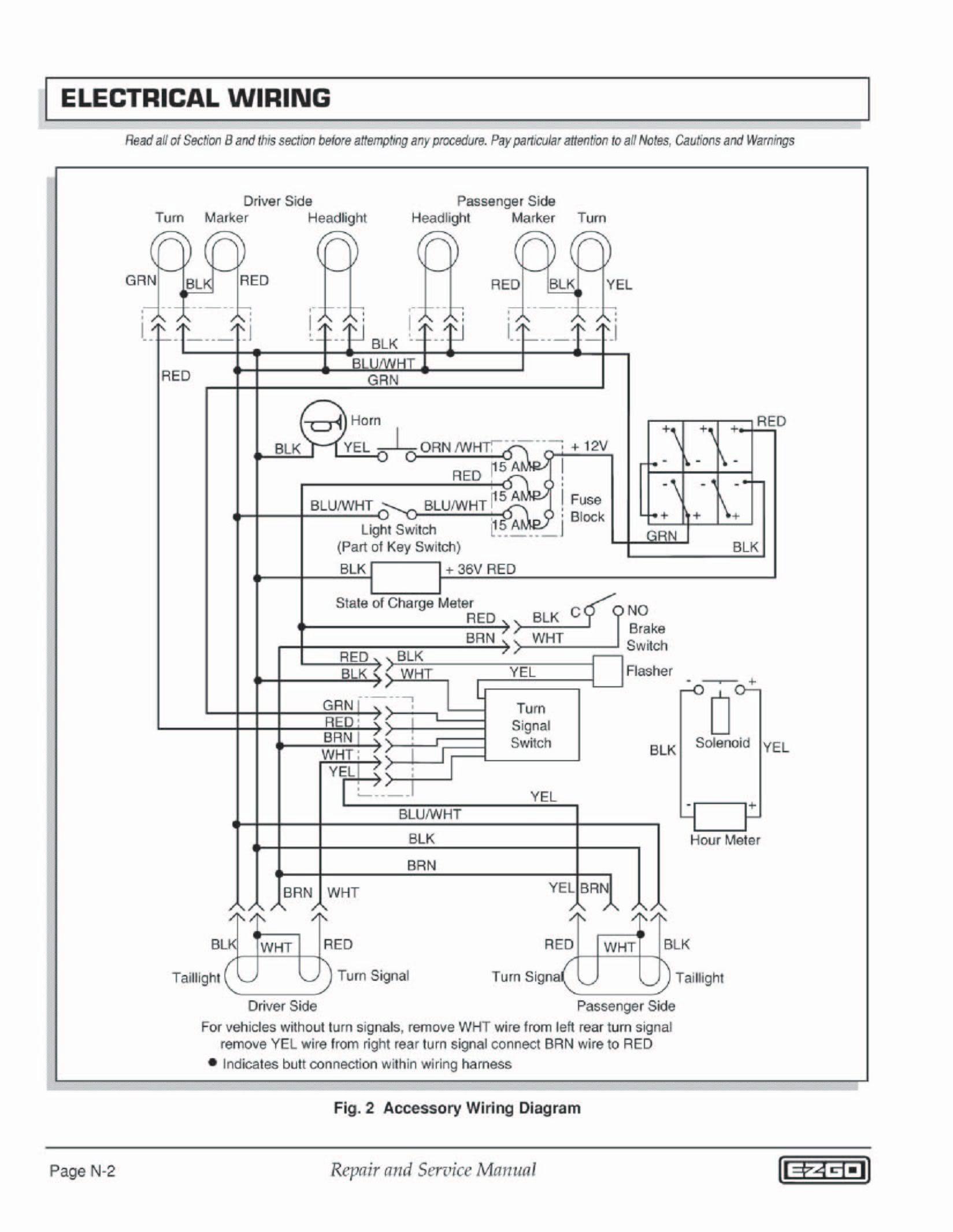 ezgo txt key switch wiring diagram inspirationa luxury 1998 ez go rh acousticguitarguide org EZ Go Solenoid Wiring Diagram 2001 EZ Go TXT Wiring Diagram