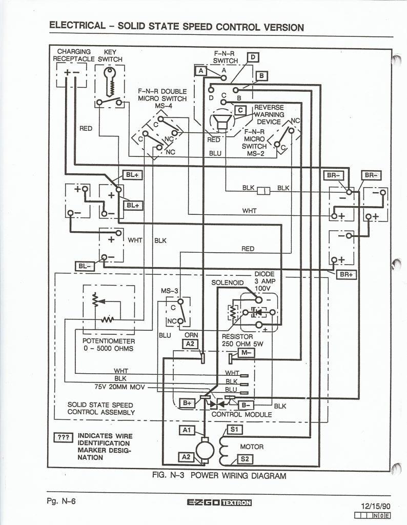 Ezgo Marathon Wiring Diagram For Wire B2network Co Within Wiring Diagram For 2002 Ezgo Gas Golf Cart