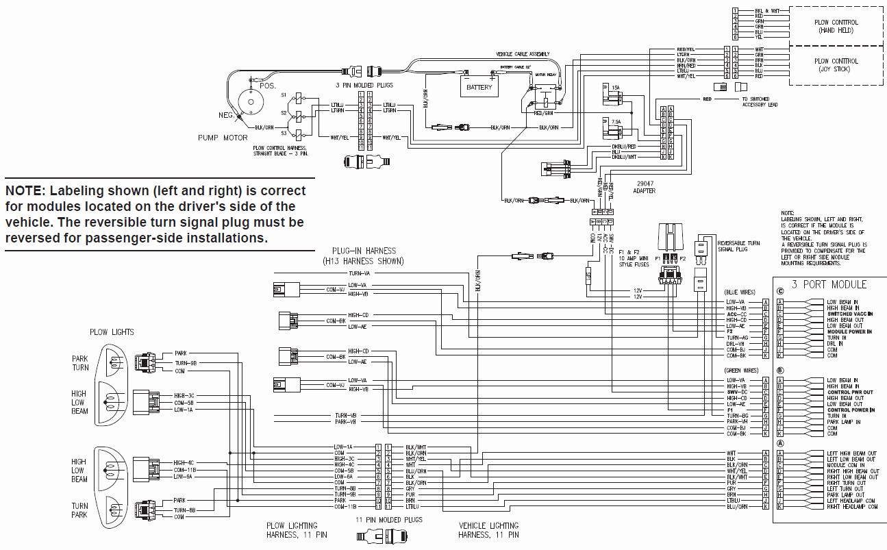 Diamond Snow Plow Wiring Diagram