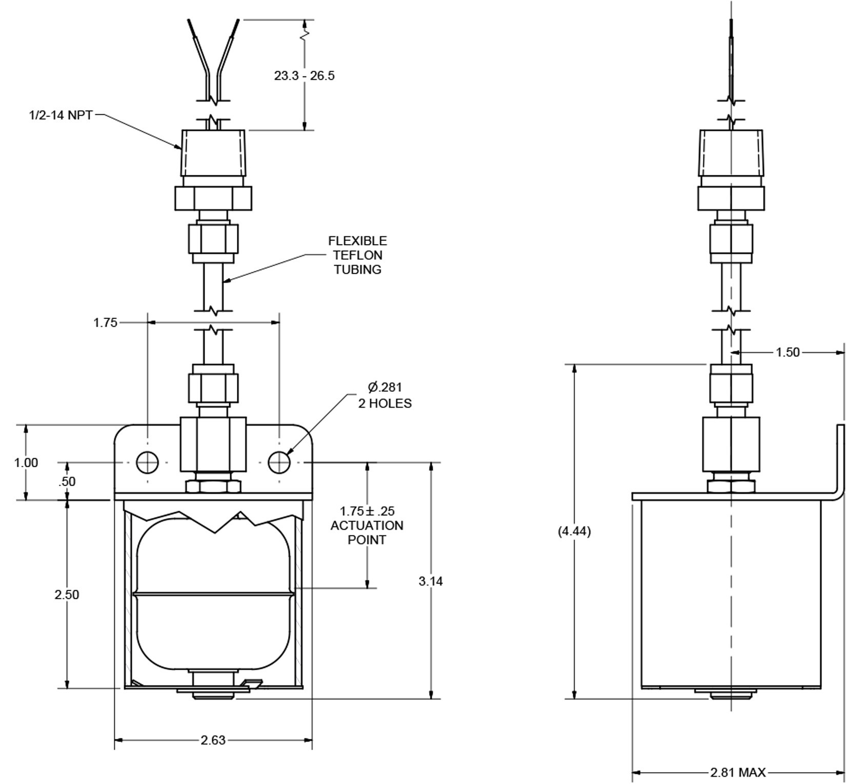 Wiring Diagram for Float Switch Save Bracket Mount Stainless Steel Full Size Float Switch