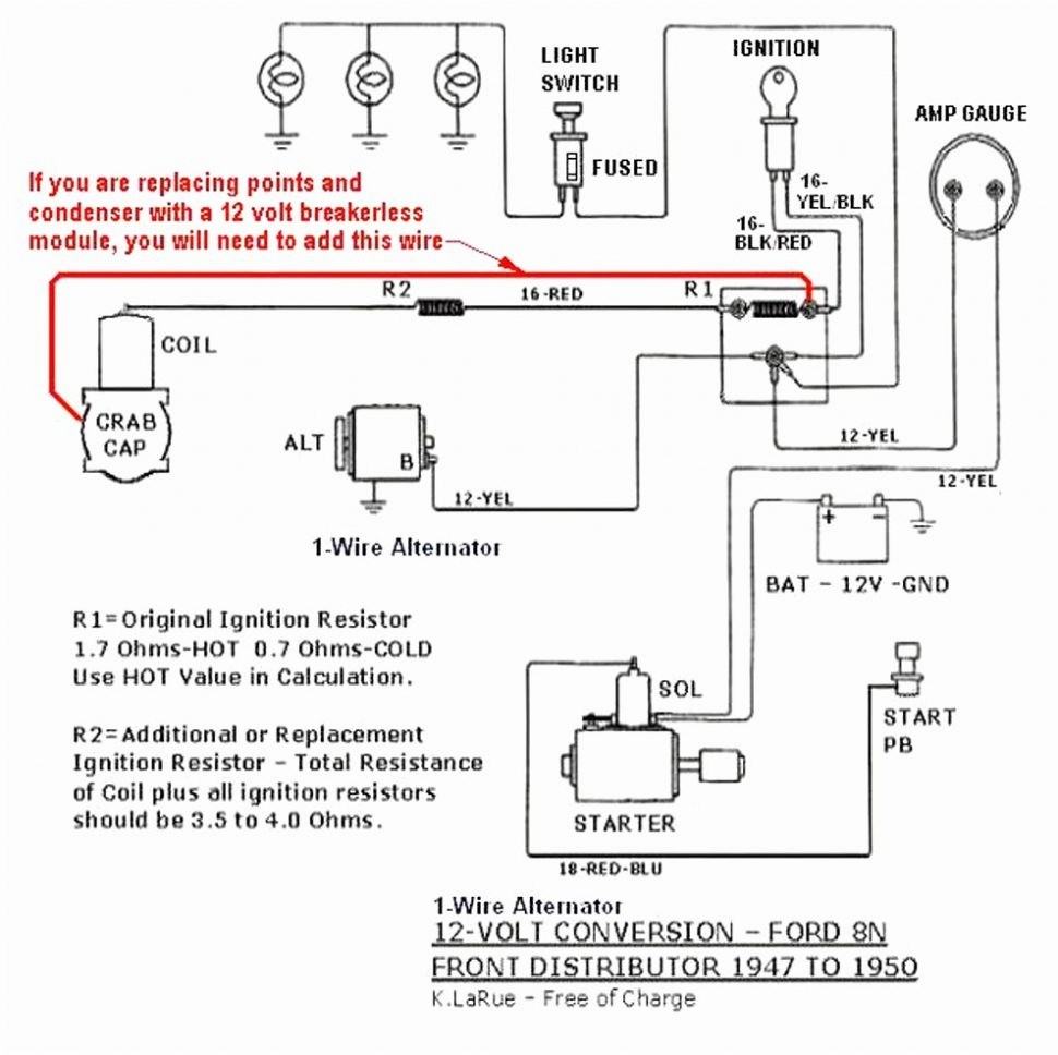 With Diagram For Ford 9n 12v Wiring | Wiring Schematic Diagram on