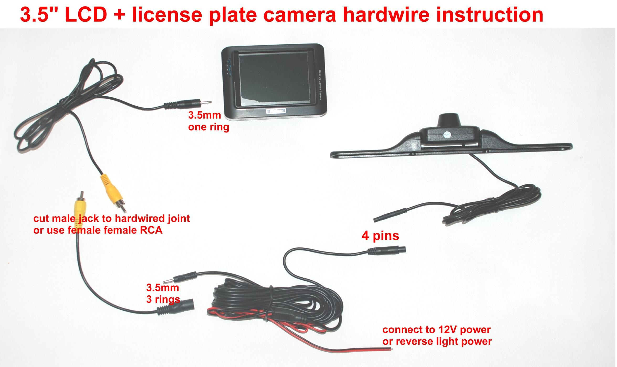 Wiring Diagram for Rear View Camera Save Car Truck Backup Camera Wiring  Diagram How to Wire