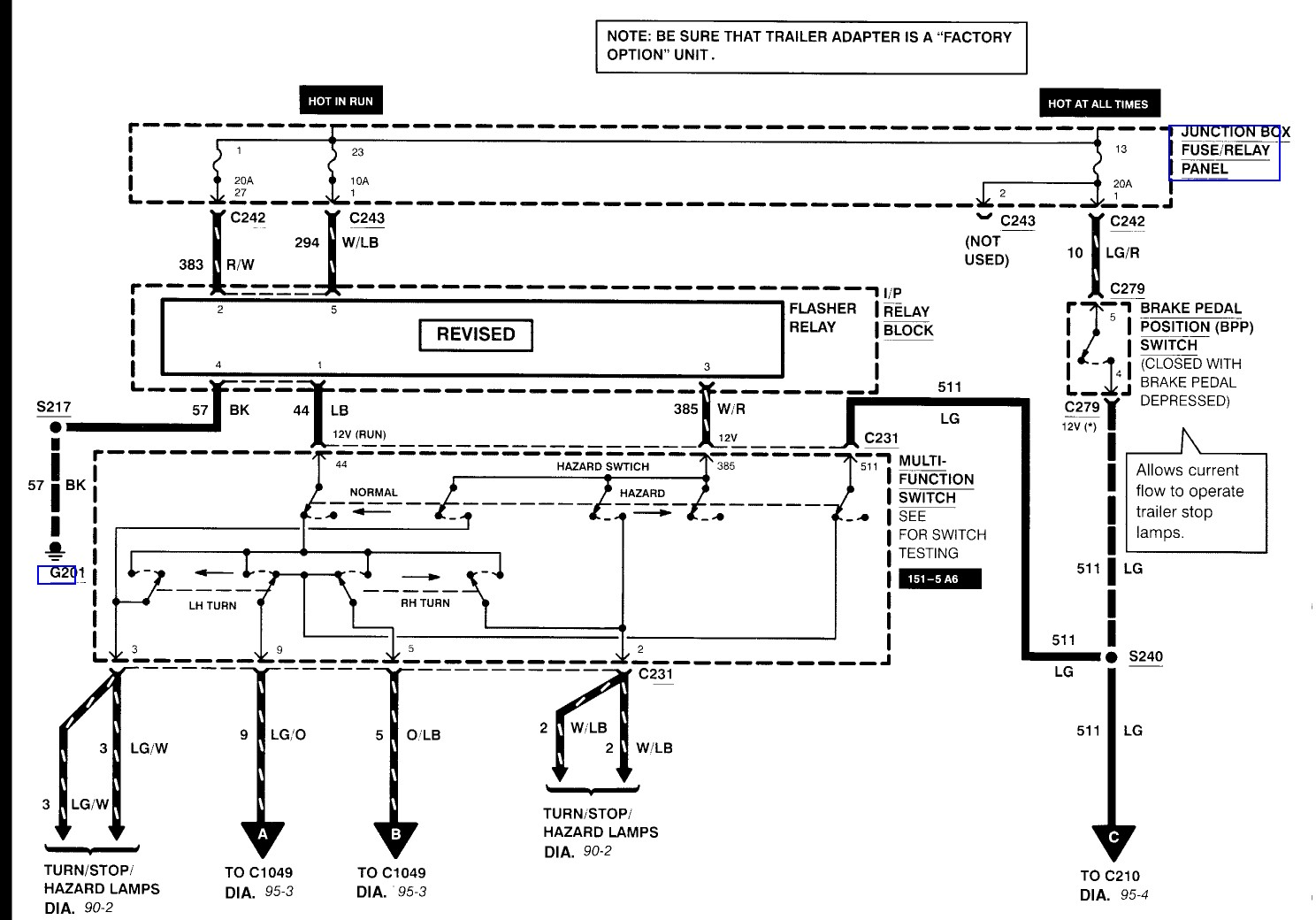 ford f350 trailer wiring harness diagram Download ford f250 wire harness wiring diagram ford parts