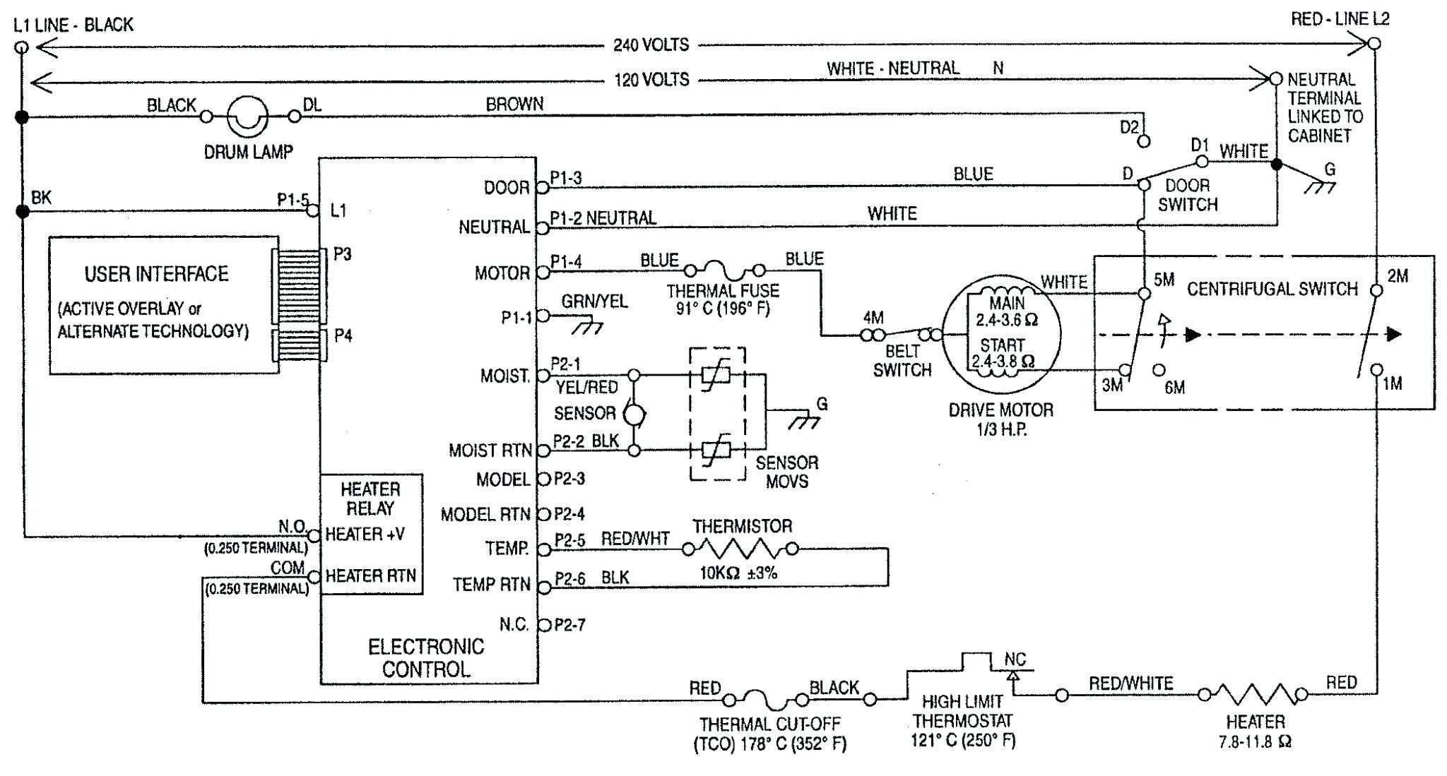 Ge Dryer Wiring Diagram Timer Electric Free Download Car Profile inside Ge Electric Dryer Wiring Diagram