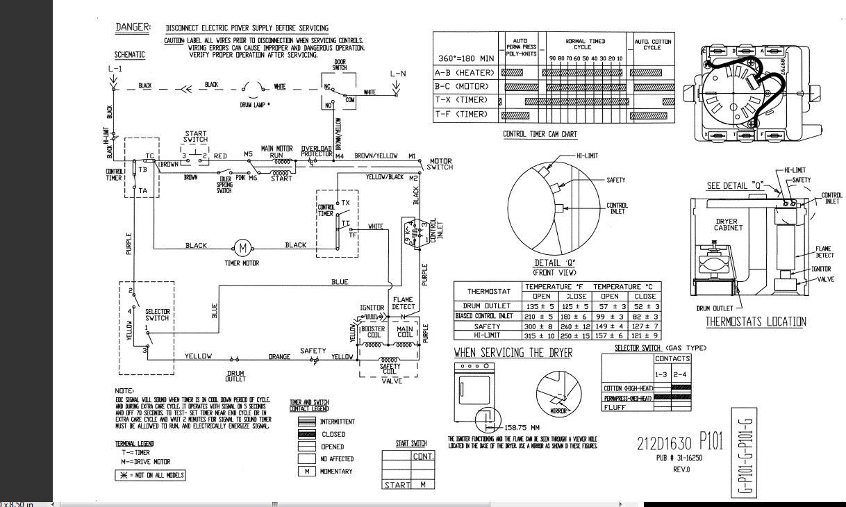 Ge Dryer Motor Wiring Diagram With Template