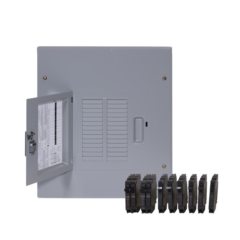 PowerMark Gold 125 Amp 14 Space 24 Circuit Indoor Main Lug Value Kit Includes