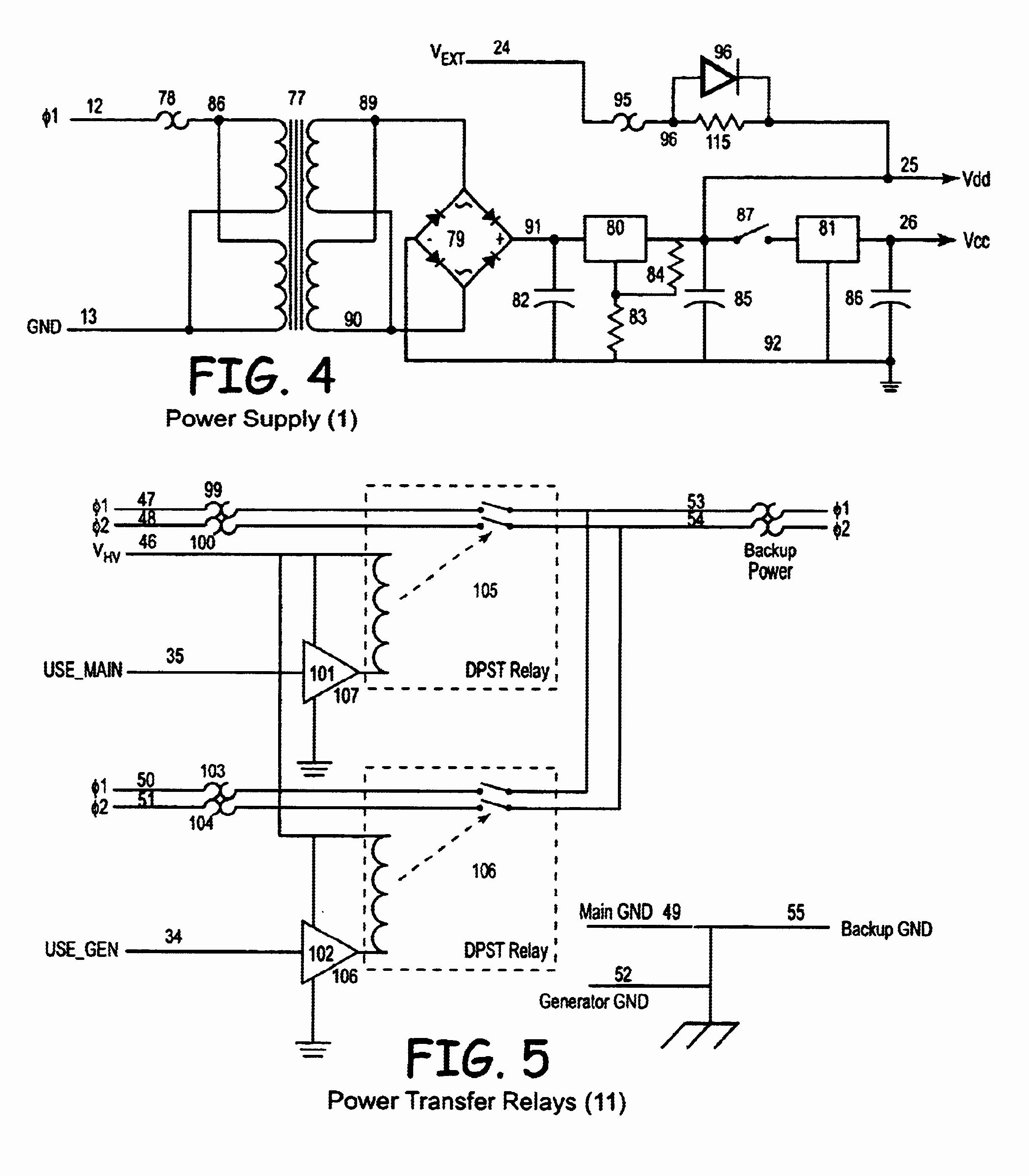 Generator Automatic Transfer Switch Wiring Diagram for Generac Automatic Transfer Switch Wiring Diagram