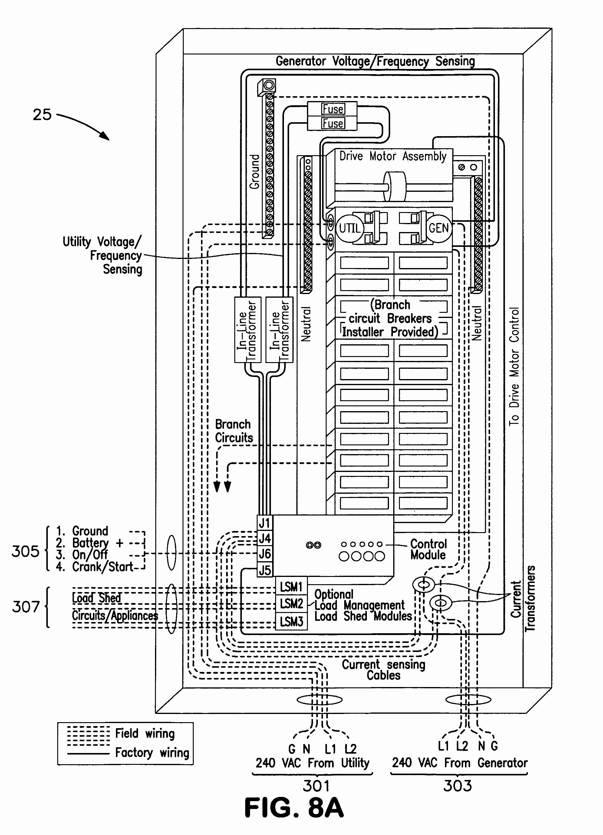 Generac Automatic Transfer Switch Wiring Diagram for Generac Automatic Transfer Switch Wiring Diagram Elegant Amazing