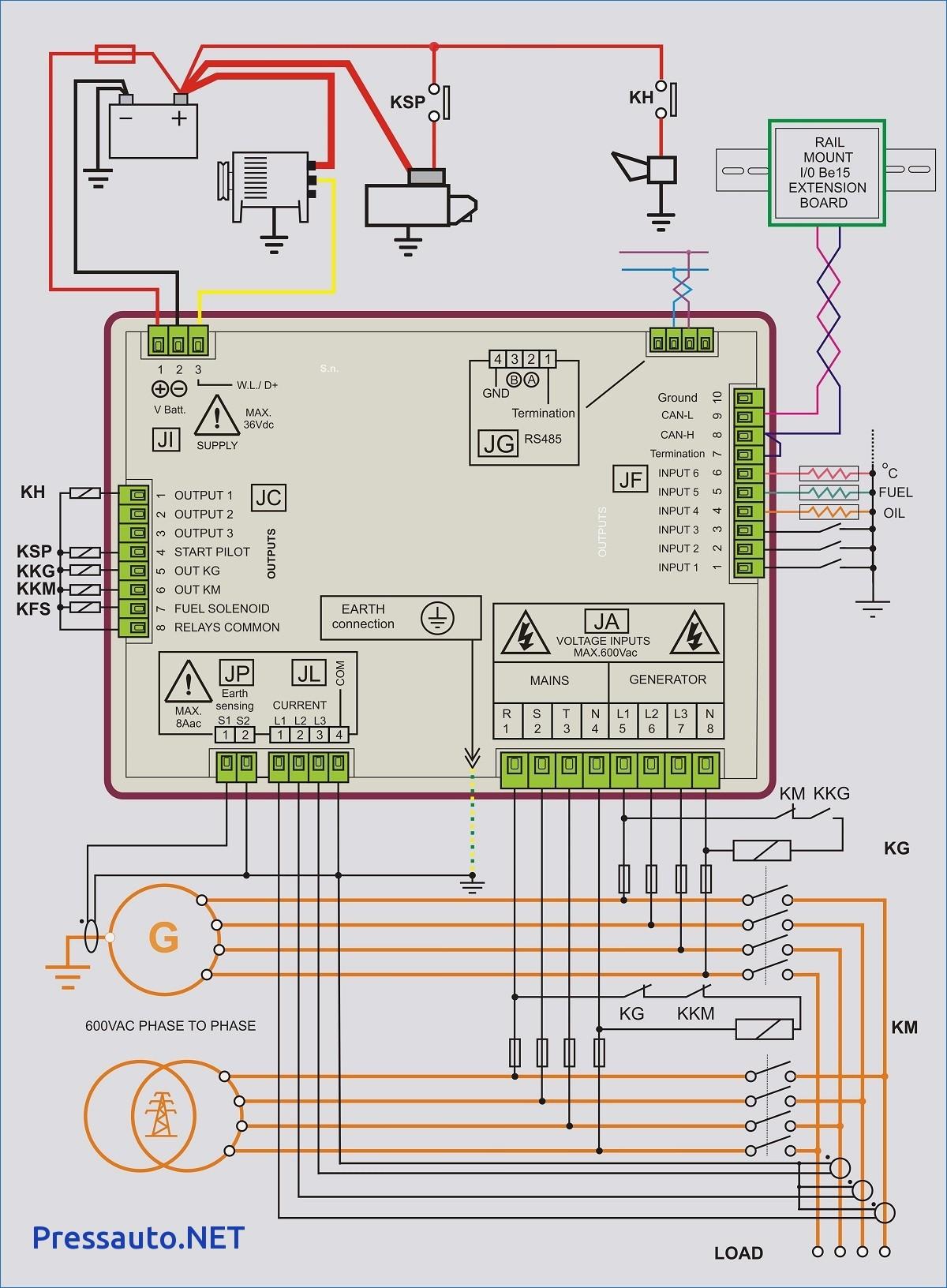 Wiring Diagram Standby Generator New Portable Generator Transfer Switch Wiring Diagram for Manual Generac