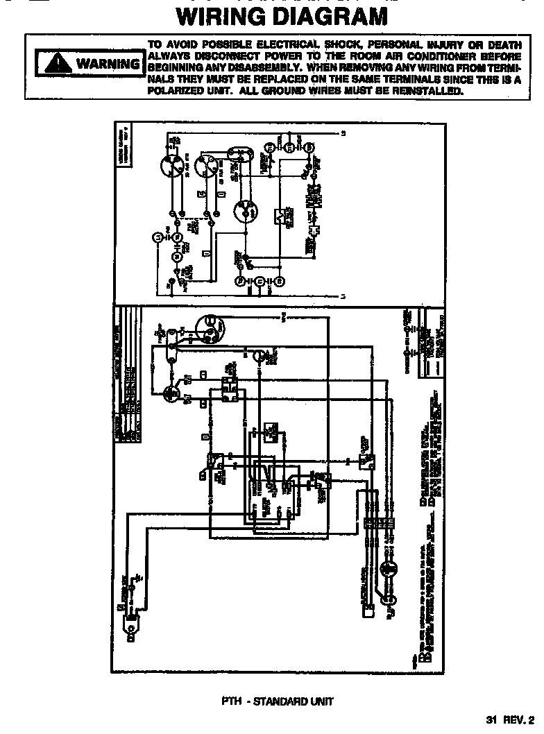 Amana Ac Unit Diagram PTAC AC Units Wiring Diagrams Outstanding Goodman