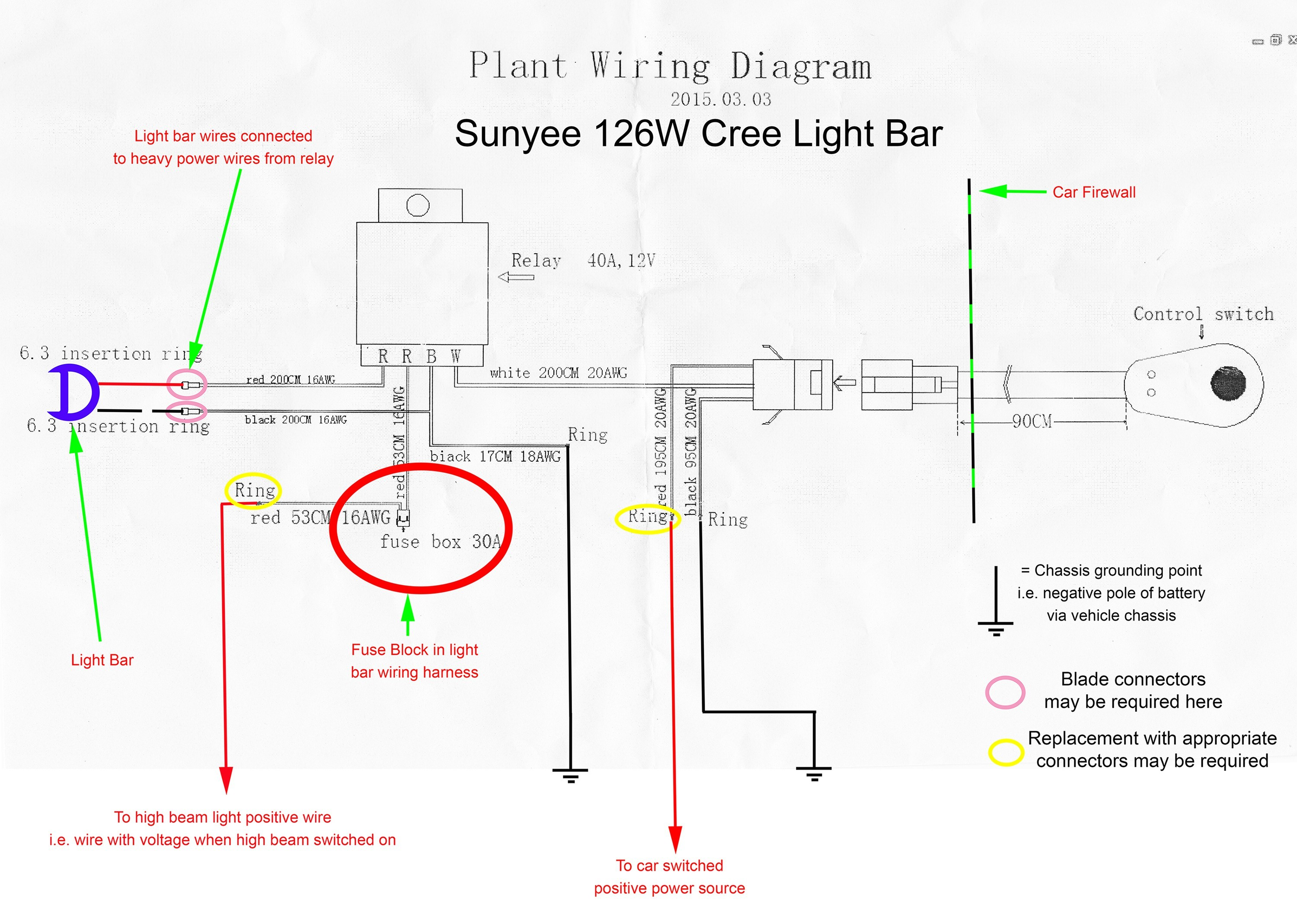 light bar wiring diagram furthermore 3 wire trailer tail light rh  savvigroup co