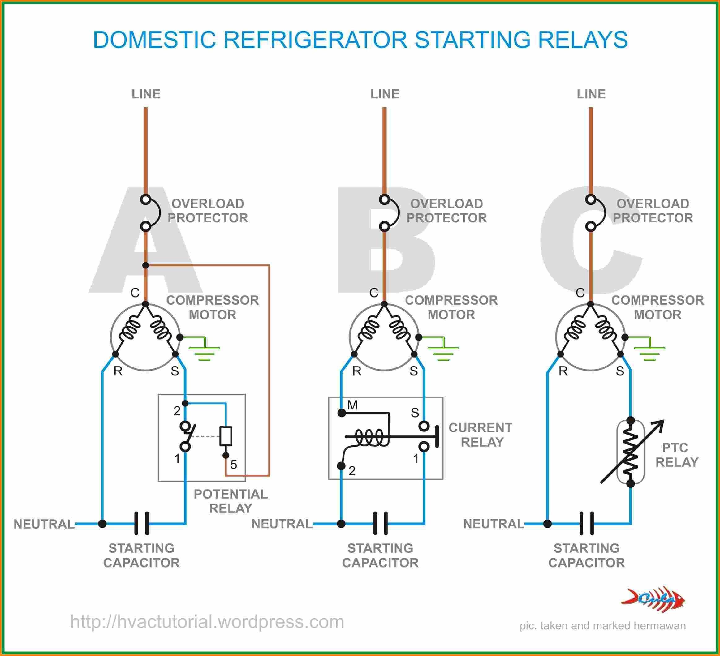 Hard Start Kit Wiring Diagram Elegant | Wiring Diagram Image on