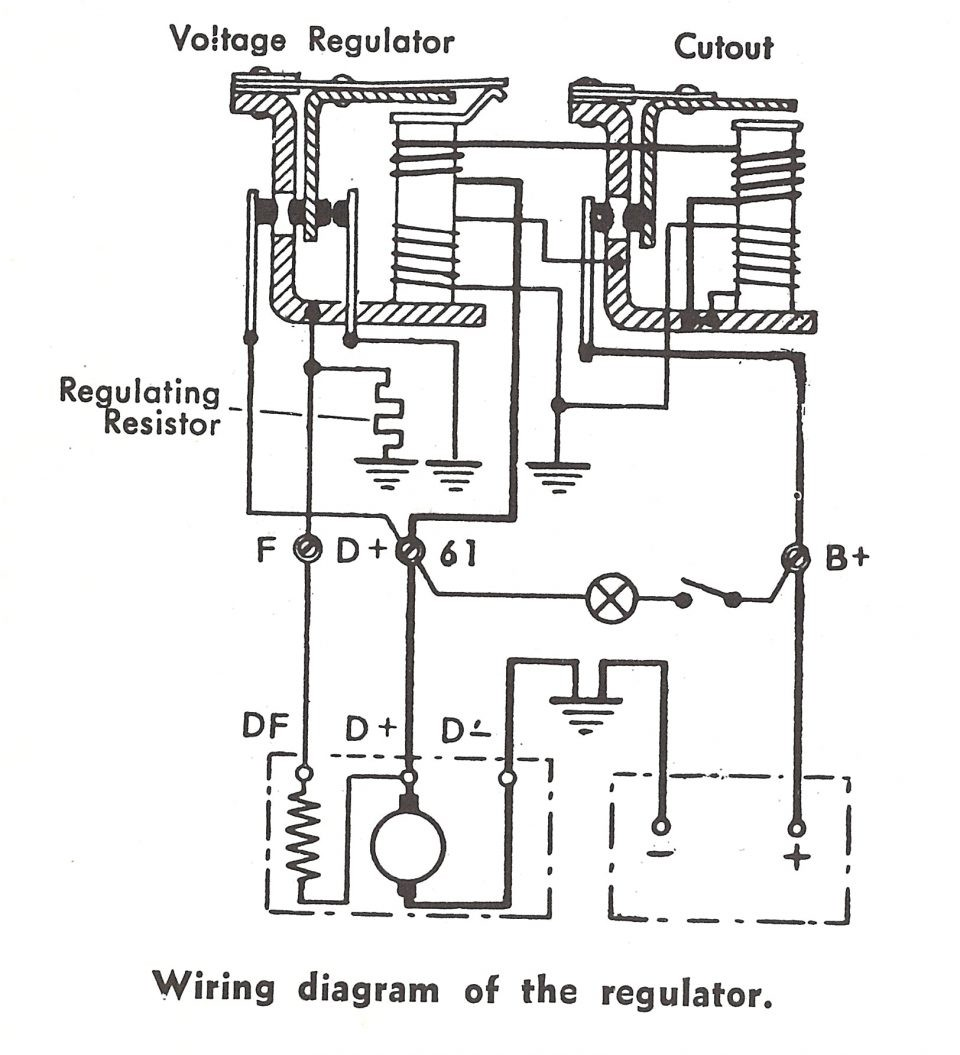 Allis Chalmers B Wiring Harness Library 5015 Diesel Tractor Diagram Harley Davidson Voltage Regulator Image