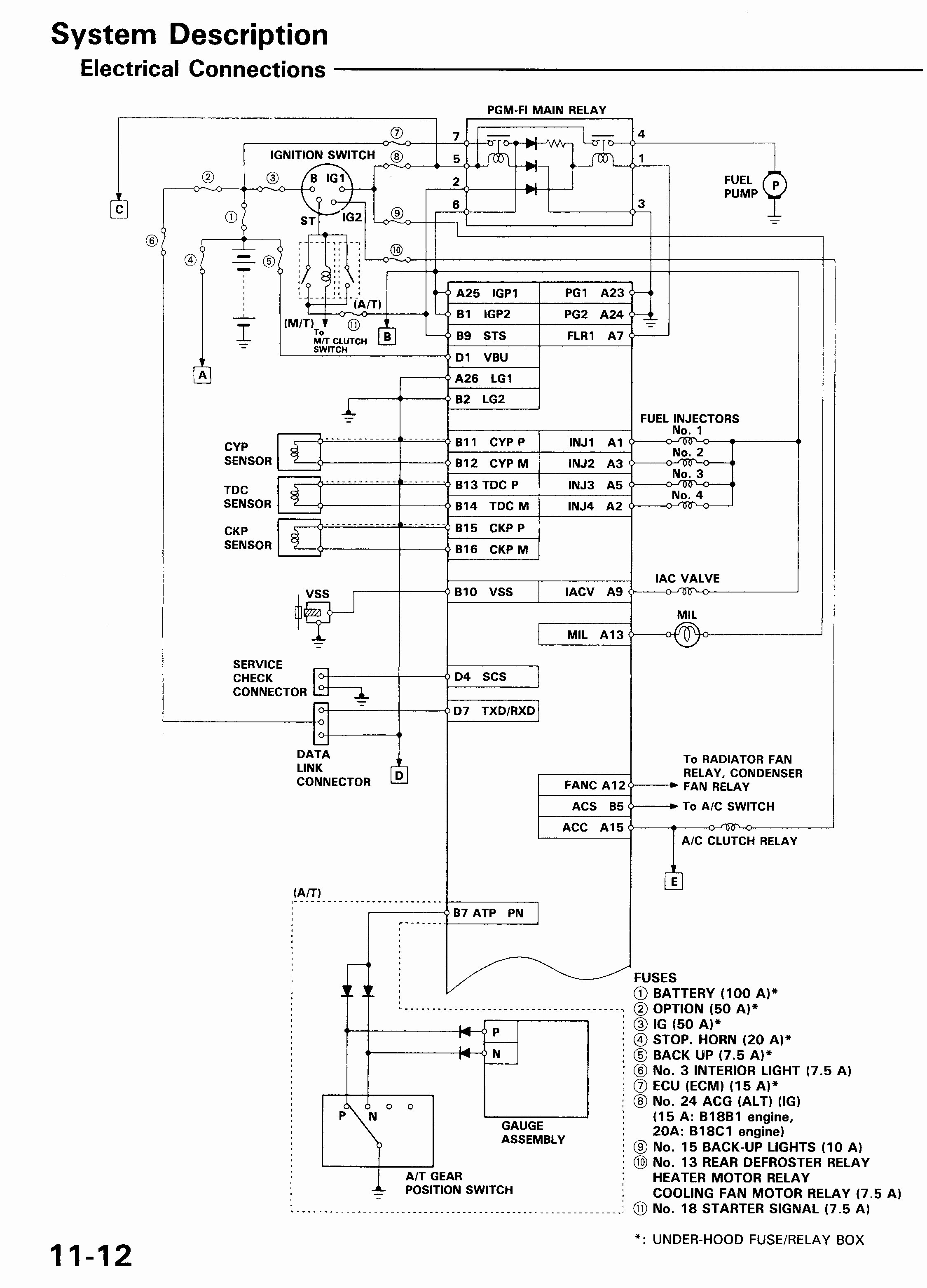 Honda Legend Wiring Diagram Save Wiring Diagram Honda Civic Ignition Wiring Diagram Unique 2001
