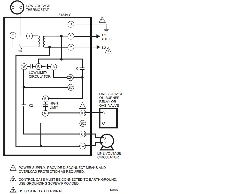 aquastat l8124a wiring diagram wire data \u2022