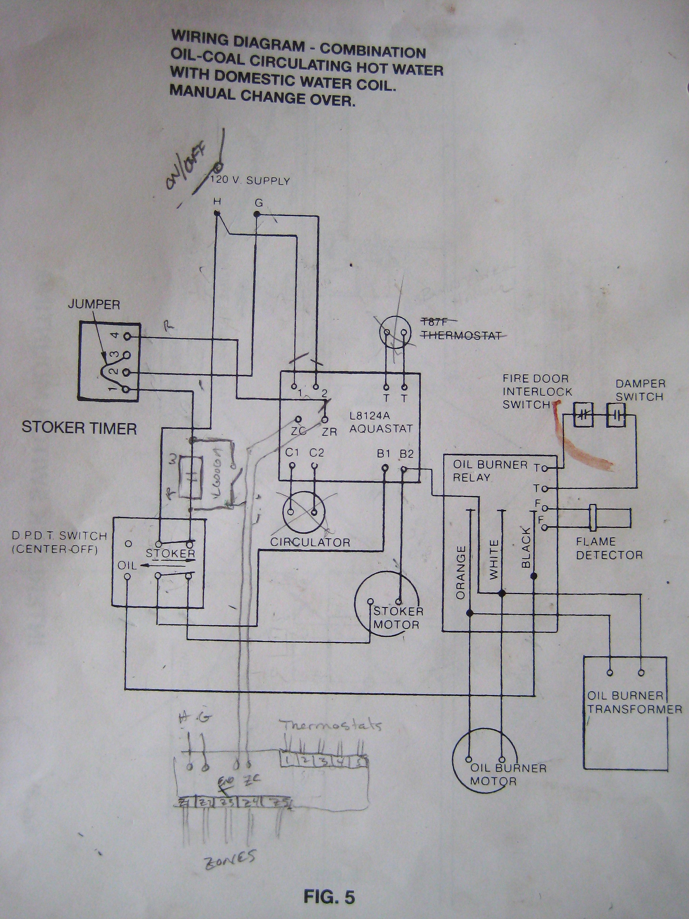 Aquastat Wiring Diagram Hi Lo Library Honeywell Controller Diagrams Trusted Thermostat Old