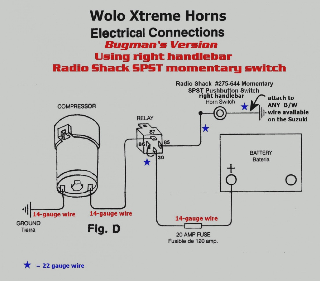 Trend Air Horn Wiring Diagram Pdf Free Coachedby Me