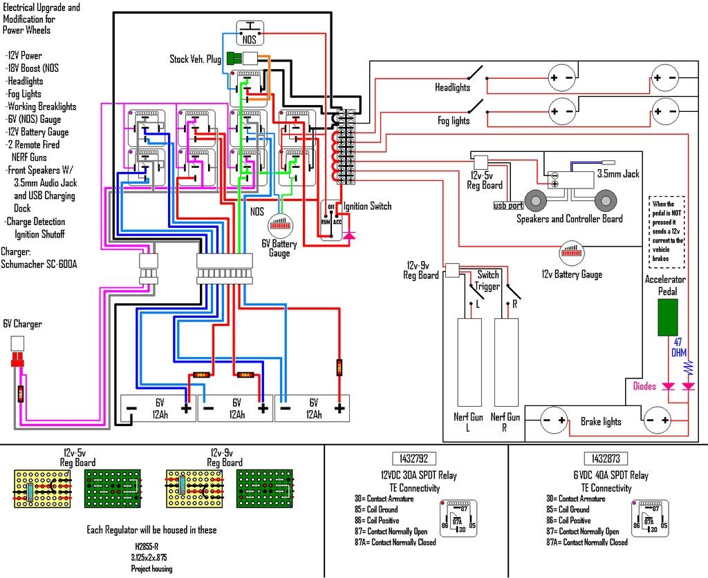 House Wiring Circuit Diagrams Elegant Diagram Image 12v Home Basics 3 11 13 Spdt Relays B Electrical