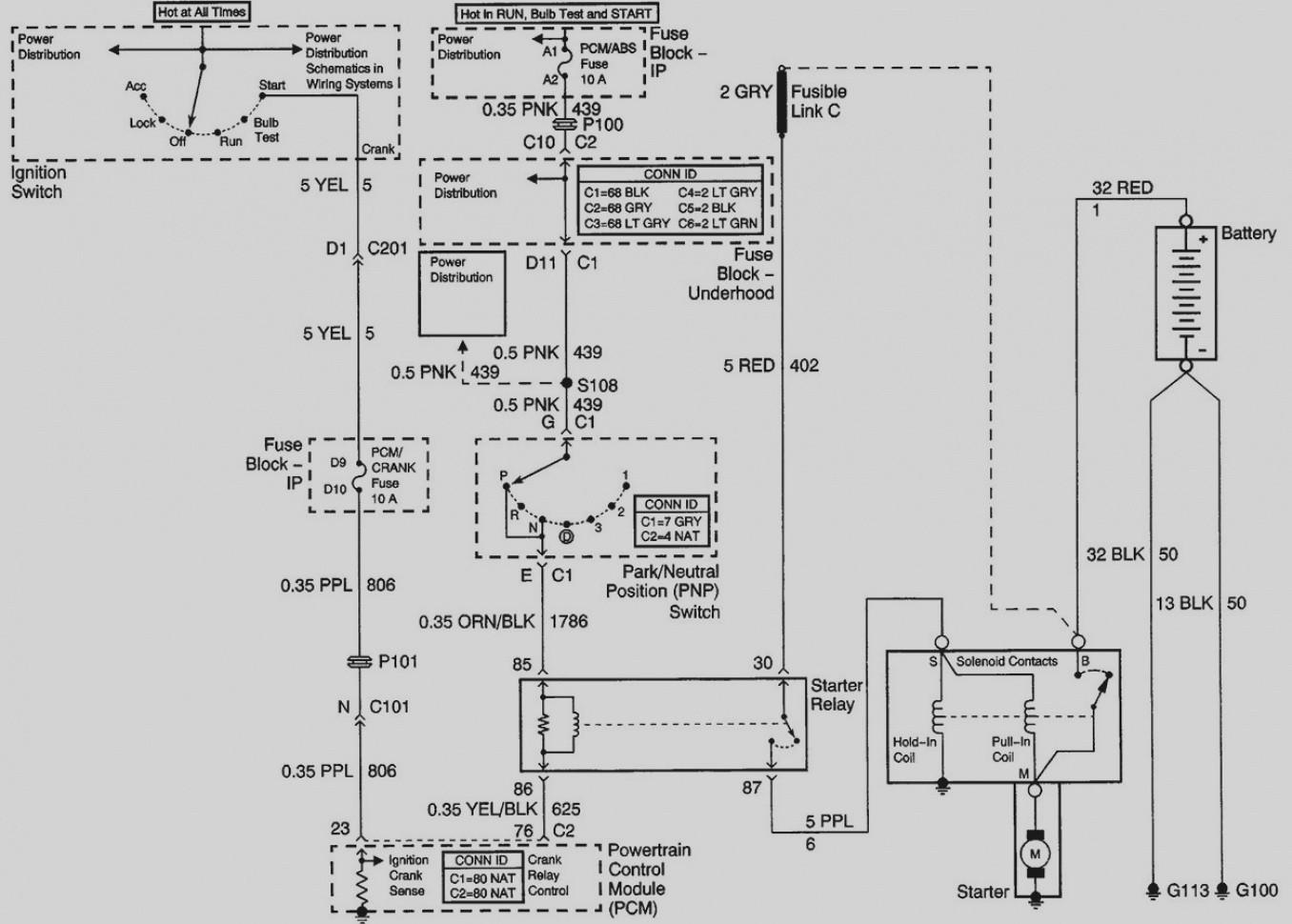 Unique Ignition Switch Wiring Diagram Chevy Best