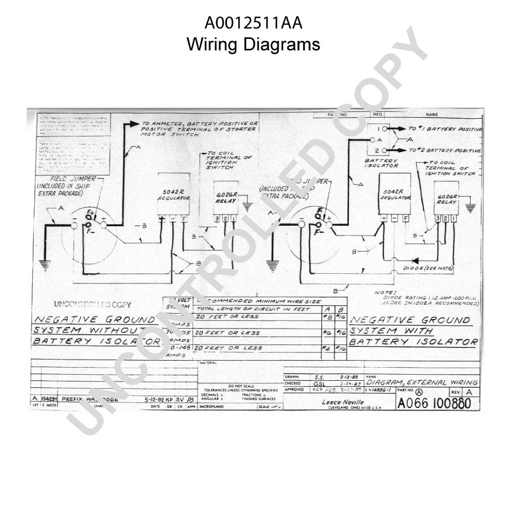 International S1900 Wiring Diagram