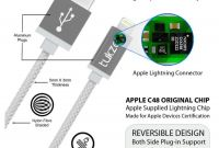 iPhone Charger Diagram Awesome Tukzer Premium 8 Pin Lightning Usb Mfi Certified Cable for Apple