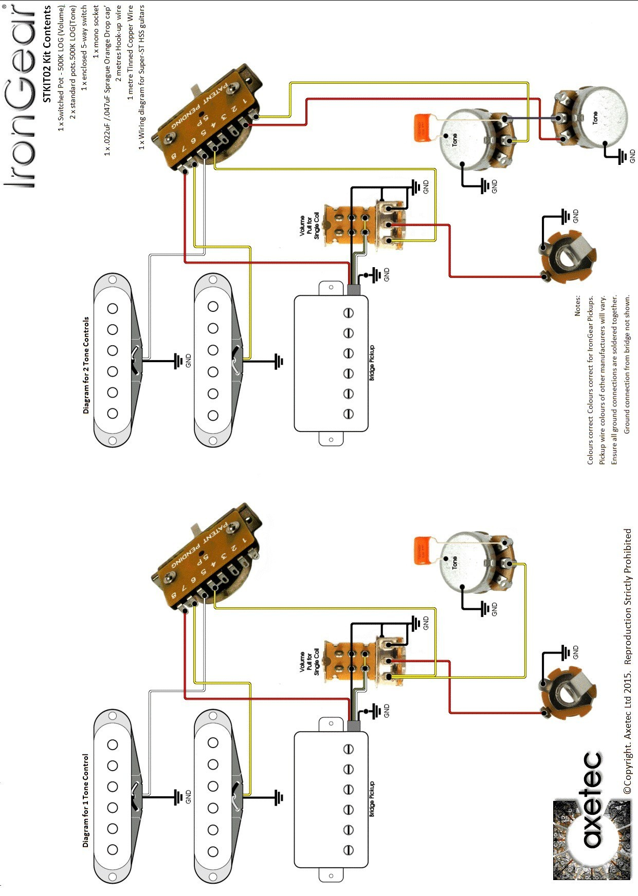 Electric Guitar Hsh Wiring Diagram Library Japan Strat Diagrams Jackson Image