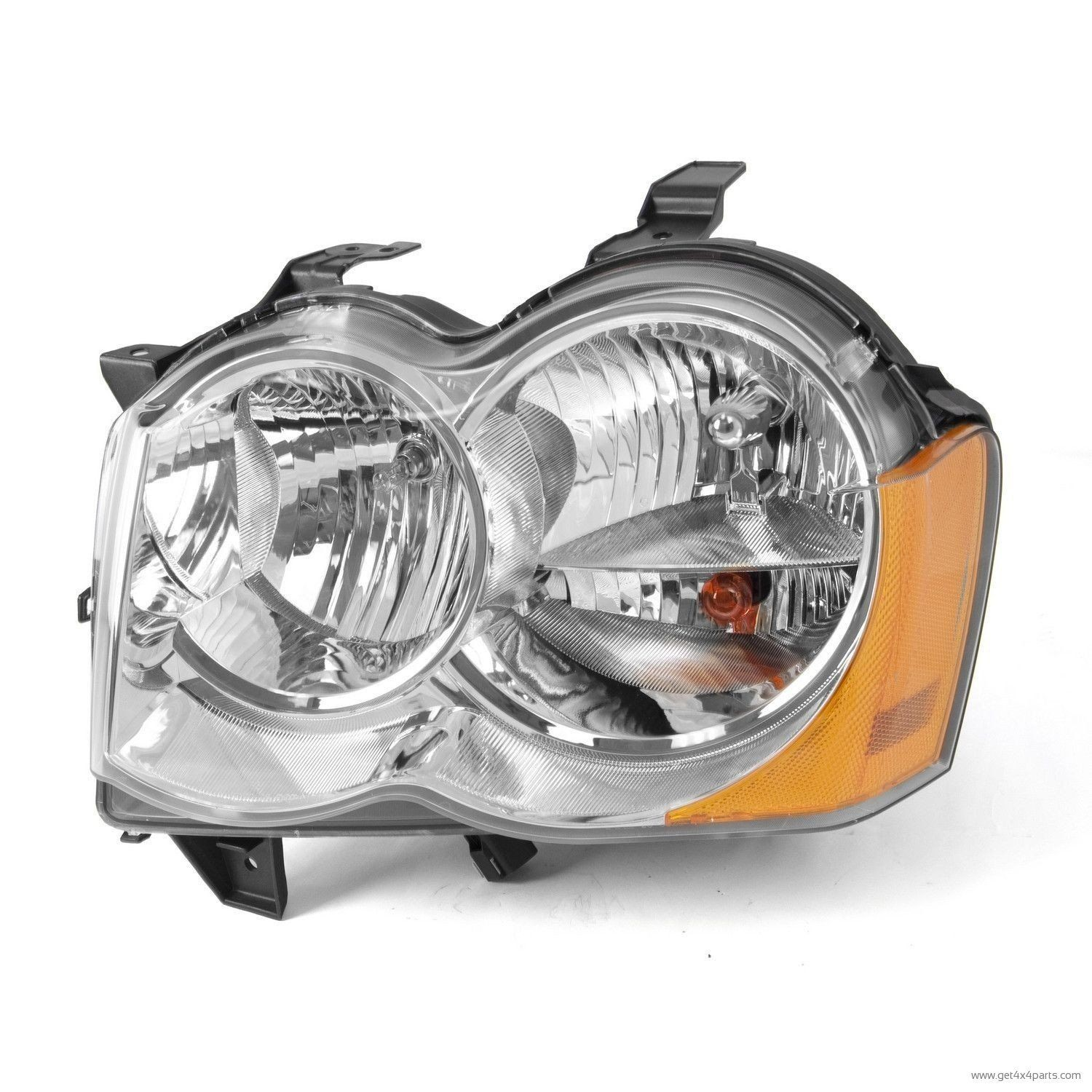 Buy LH Headlight without Fog Lights 05 10 Jeep Grand Cherokee WK at Get4x4Parts for only $ 209 34