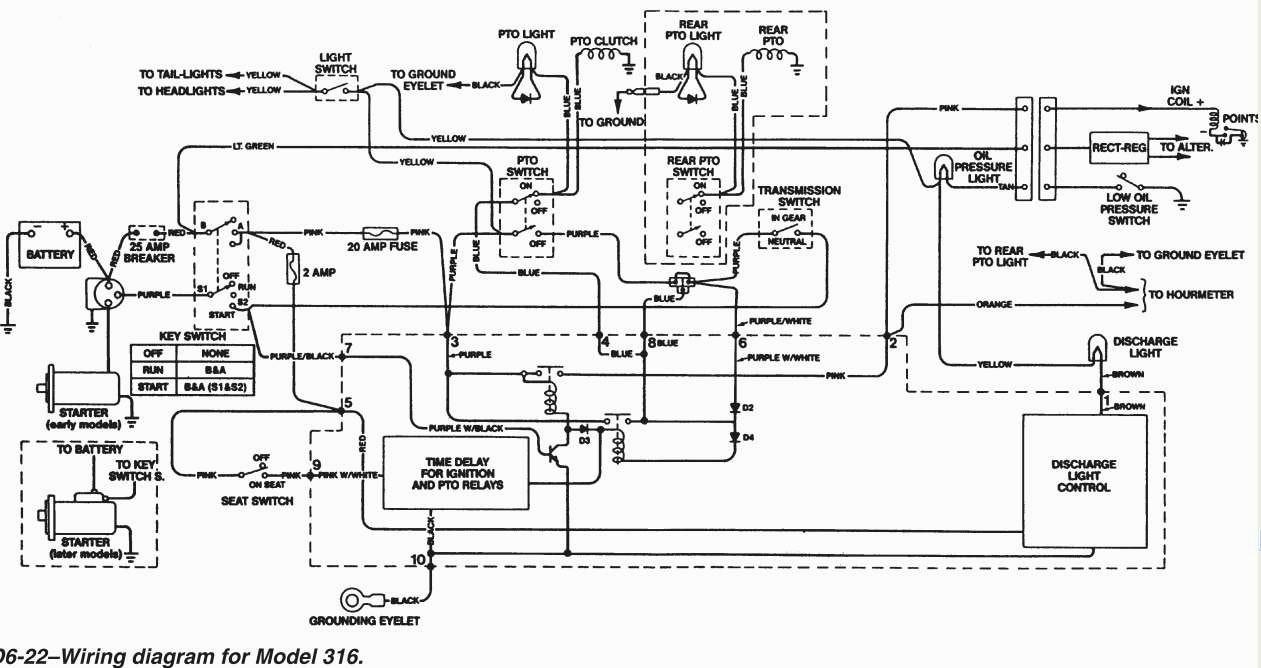 John    Deere 318    Wiring       Diagram         Wiring       Diagram    Image
