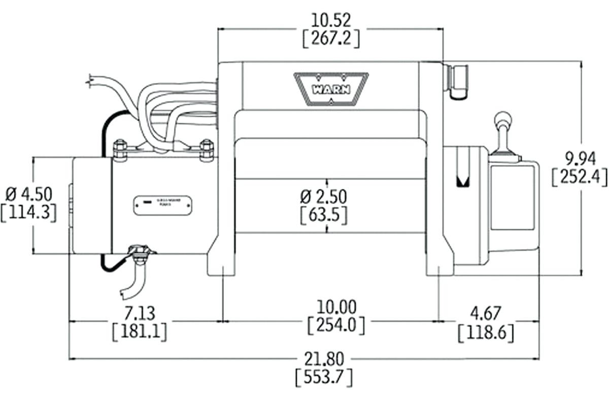 Electric Winch Wiring Diagram And Front Bumper New Warn M8000 In