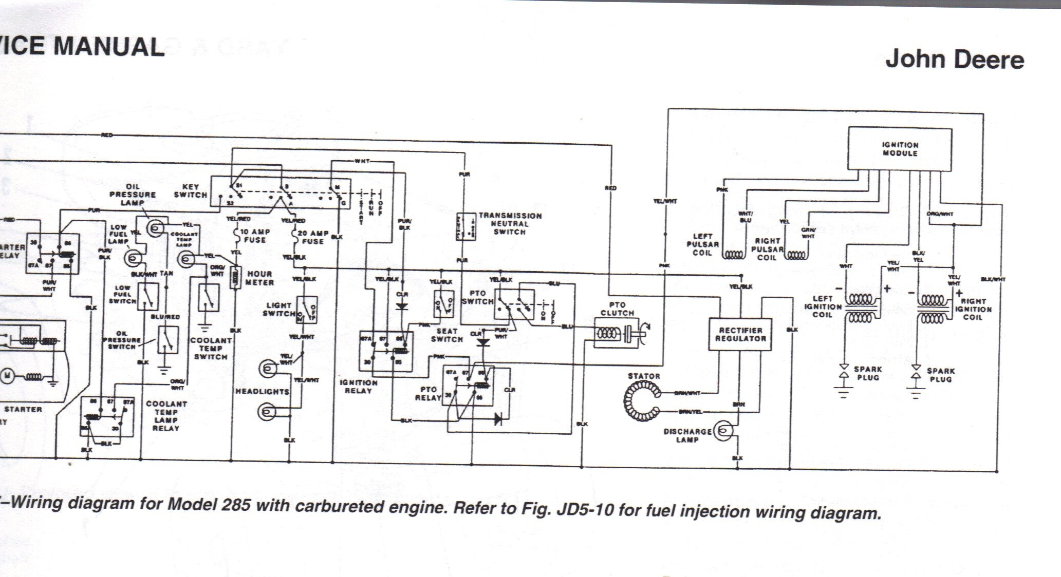 Wiring Diagram for John Deere Lt155 Fresh Gemütlich John Deere L125 Schaltplan Ideen Die Besten Elektrischen