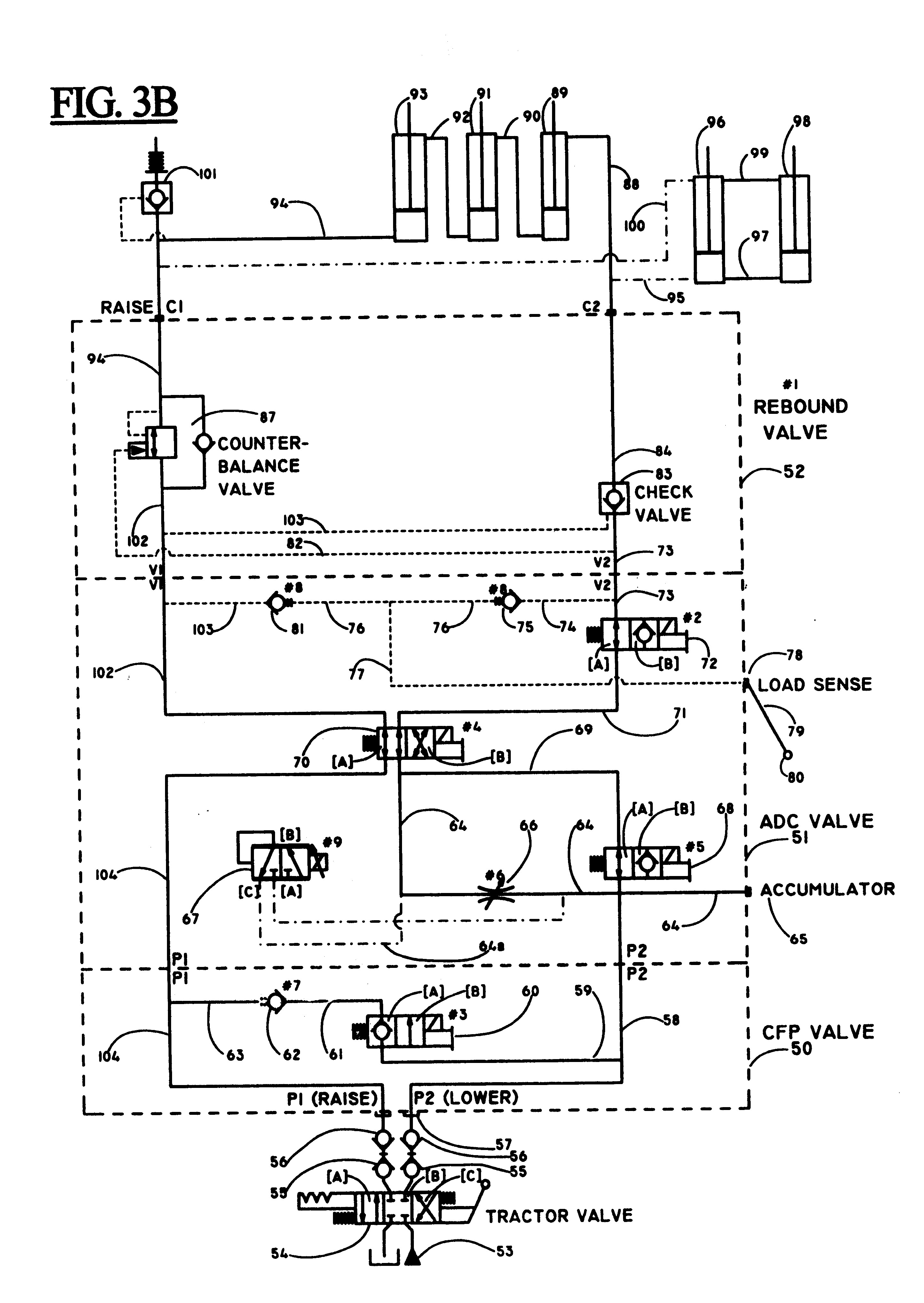 Patent Us Joystick Control For Automatic Depth Drawing John Deere Rate Controller Wiring Diagram Nh3