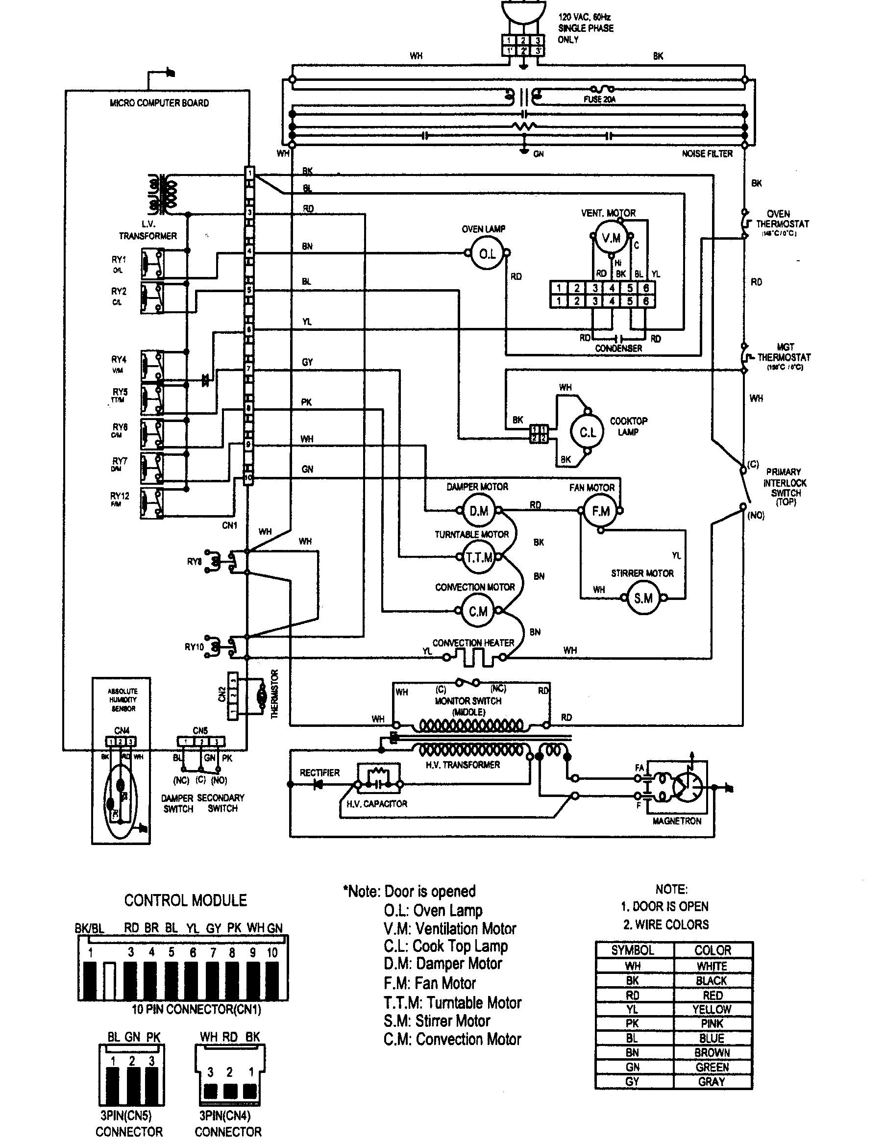 Kenmore Wiring Diagram