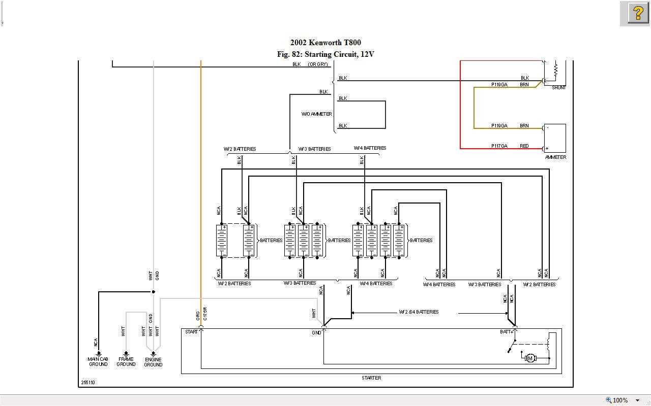 kenworth t300 wiring diagrams