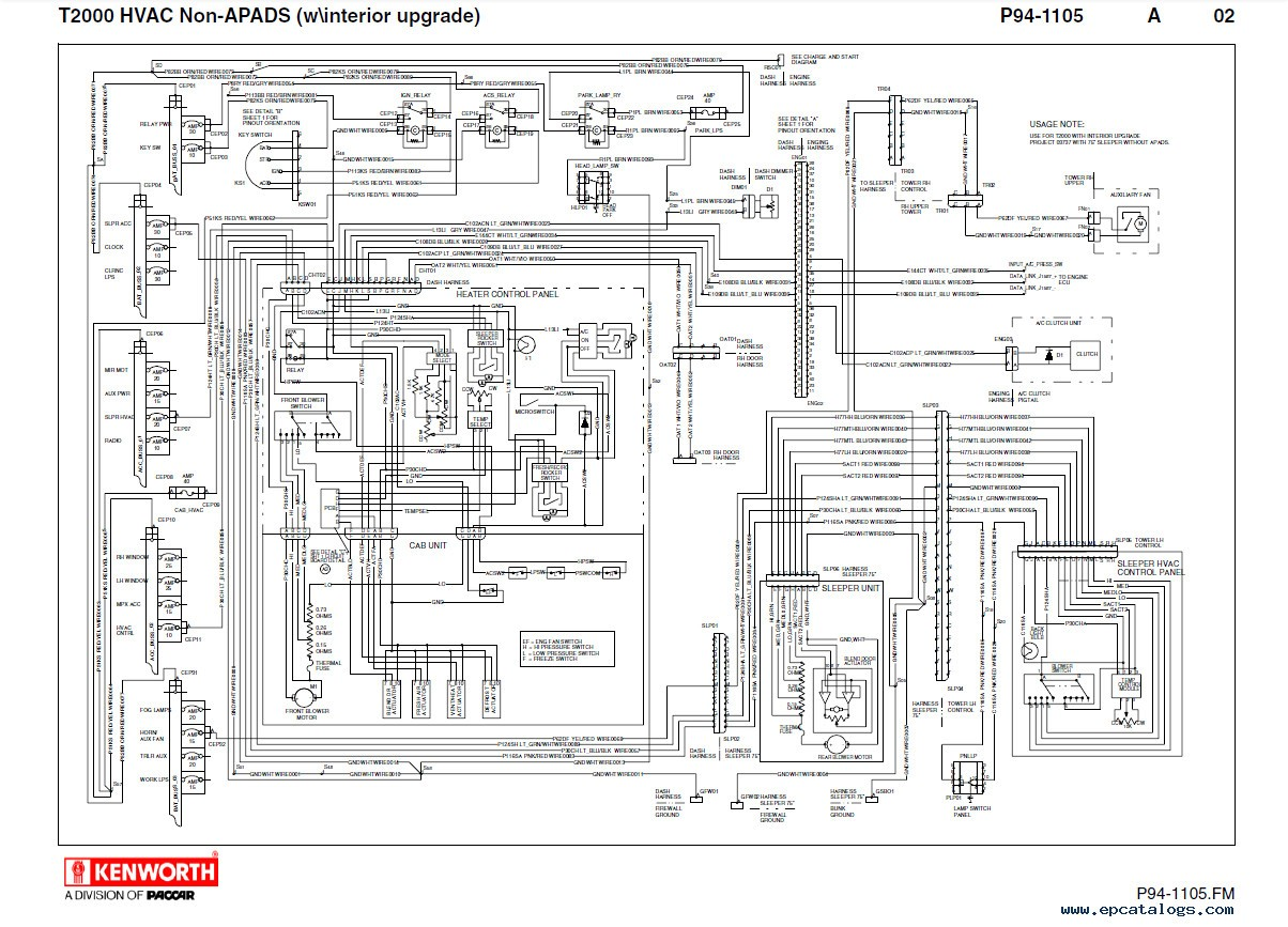 Kenworth W900 Wiring Schematic Diagrams - New Wiring Diagrams on wiring-diagram kenworth t2000, wiring-diagram nissan tiida, wiring-diagram kenworth t800,