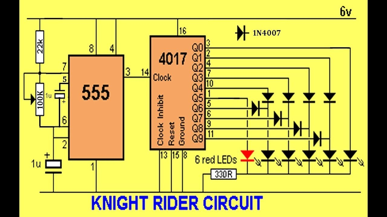 How to make a knight rider circuit using veroboard part 1 3