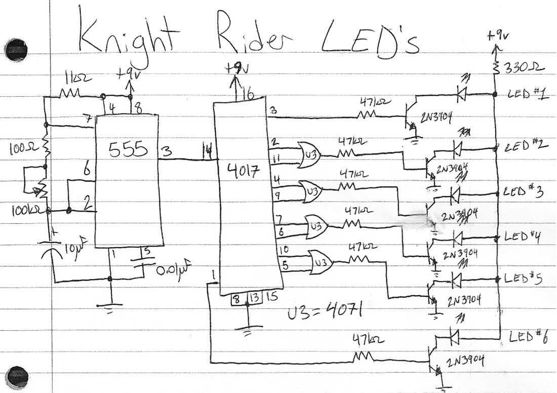 Knight Rider Circuit Awesome