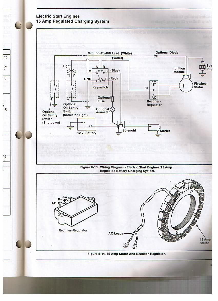kohler engine electrical diagram re voltage regulator rectifier also rh  justsayessto me Ford Voltage Regulator Wiring