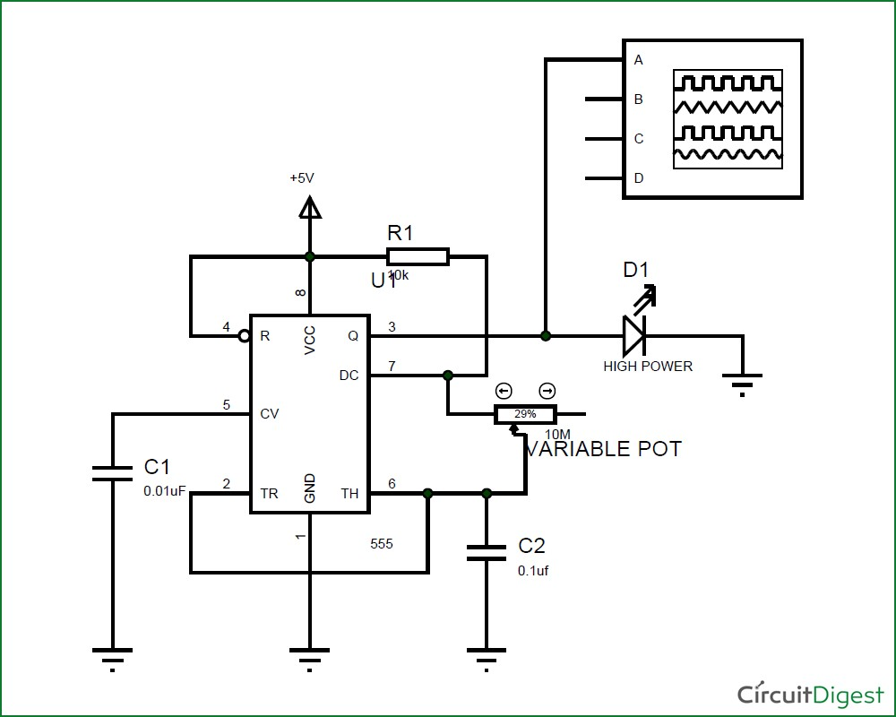 Led Light Bulb Circuit Diagram Wiring Image Home Amazing Strobe At Wire With