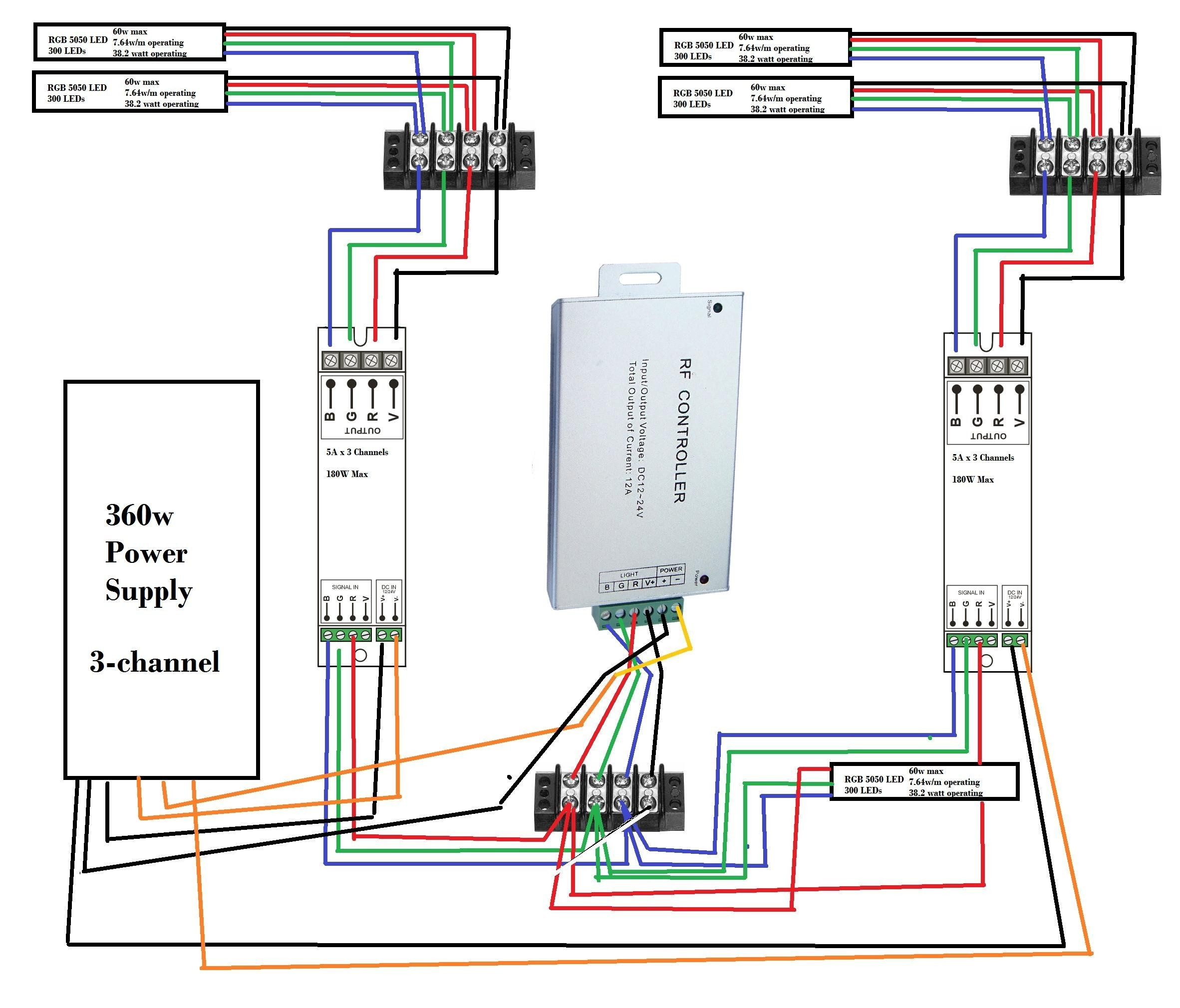 Wiring Diagram for Led Strip Lighting Valid New Wiring Diagram for Led Strip Lights