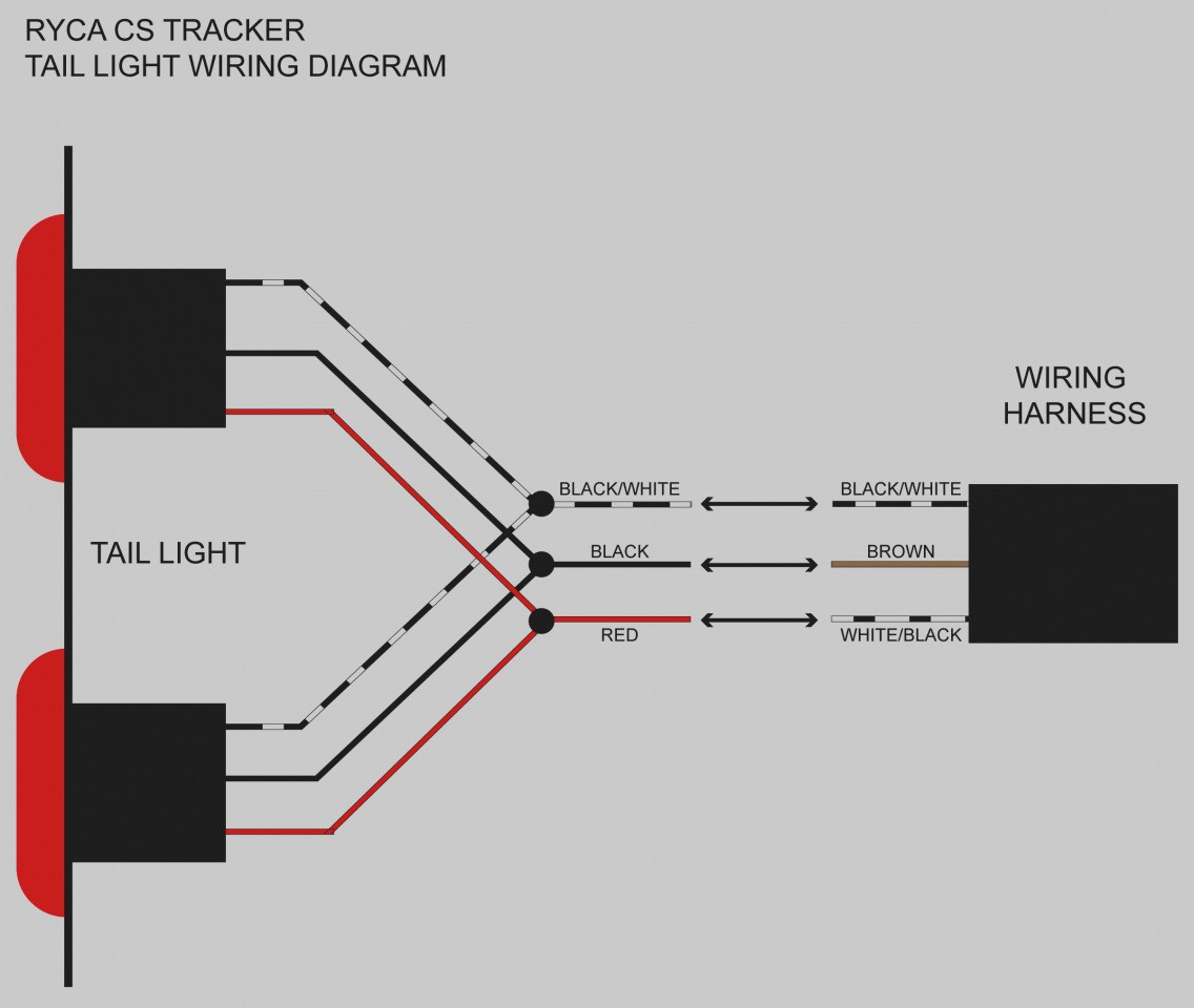 ... led trailer light wiring diagram wiring diagram image rh  mainetreasurechest com Basic Tail Light Wiring 2Wire