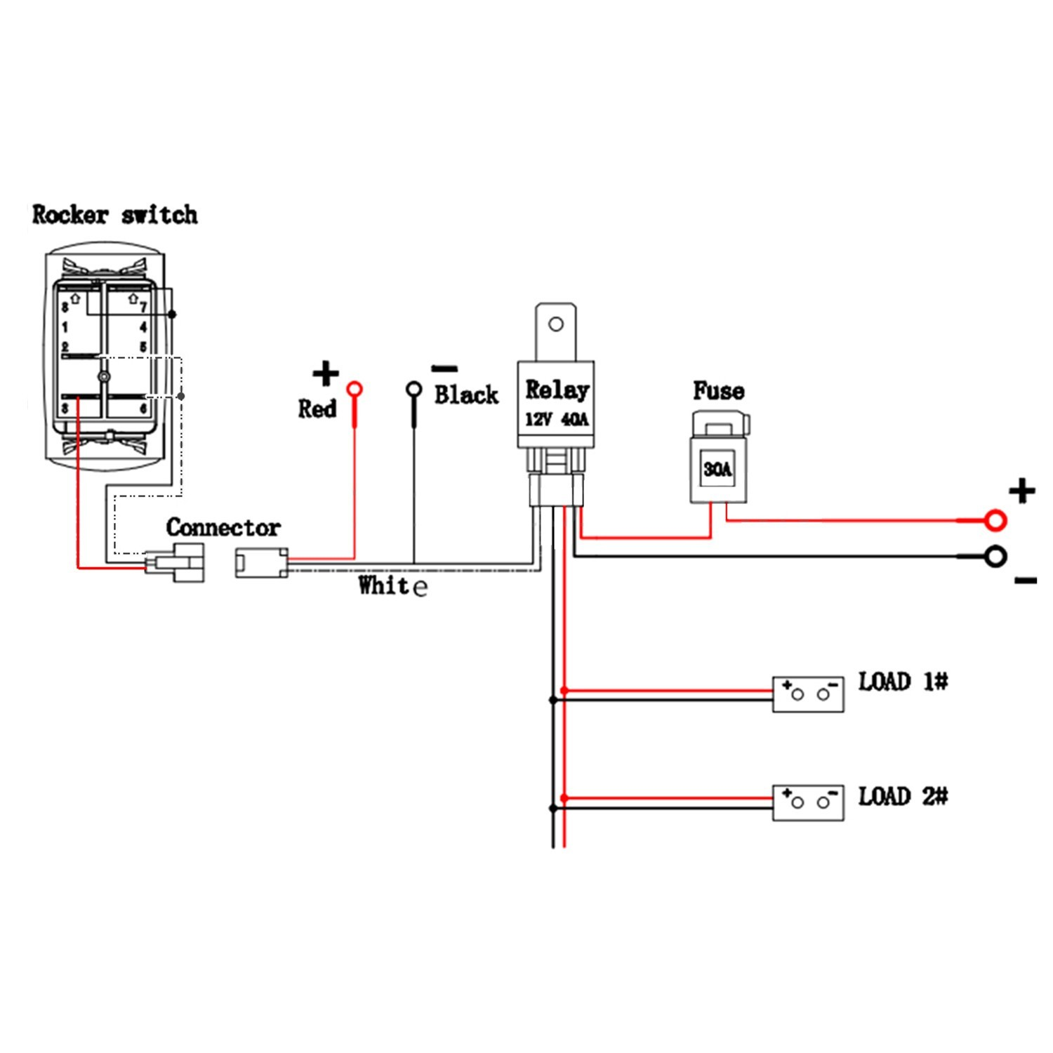 Led Wiring Diagram With Relay Best Light Bar Wire Diagram Teamninjaz Me Best Techrush