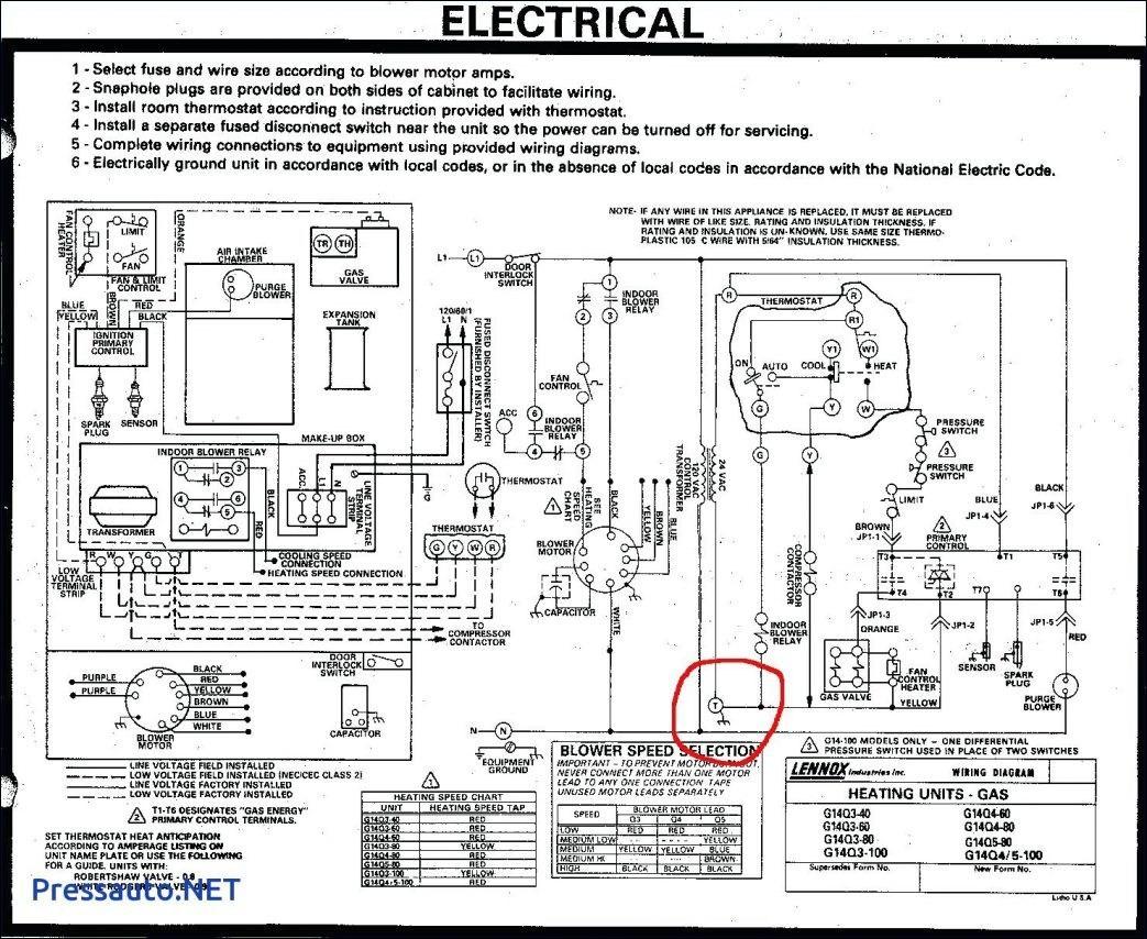 lennox heat pump thermostat wiring diagram