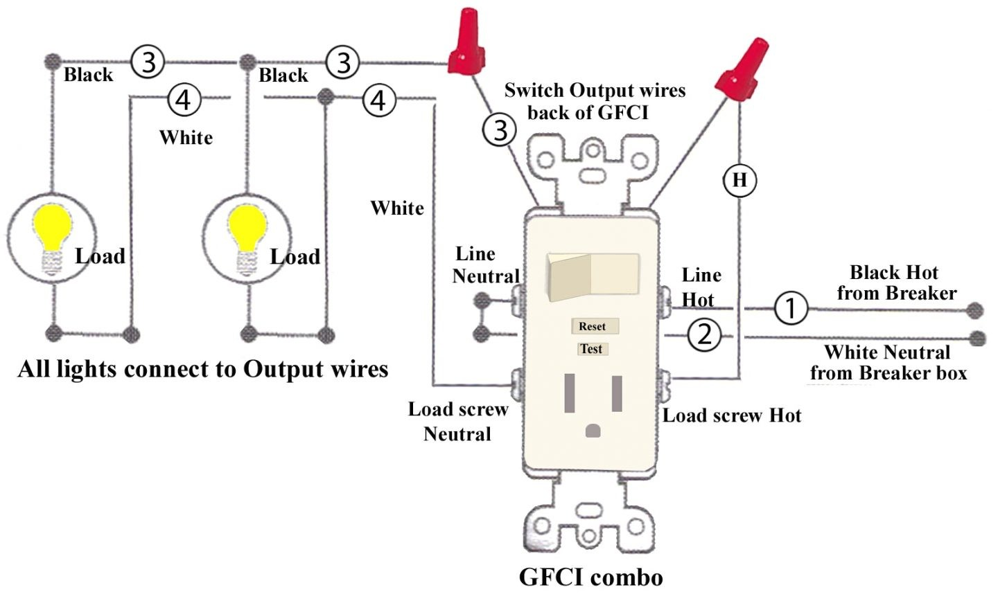 22750E Wiring Diagrams For Leviton Bination Switch Gfci | Wiring LibraryWiring Library